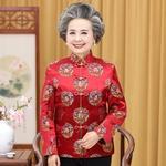 中老年妈妈冬棉服