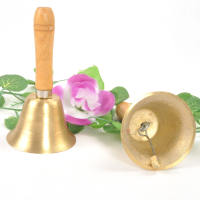 Bell, bell, small bell, school bell, copper rattle instrument