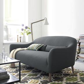 北欧现代日式沙发客厅家具布艺沙发单人双人三人组合沙发小户型