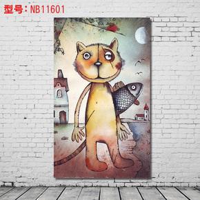 音乐抽象人物装饰画欧式壁画油画墙画酒吧挂画ktv个性抽象海报墙