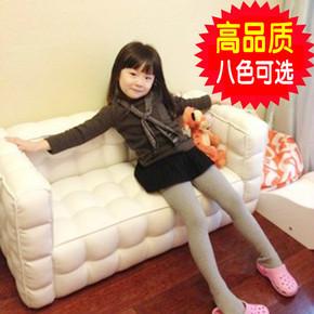 儿童沙发幼儿园组合加长皮沙发韩国公主小沙发双人面包沙发椅包邮