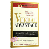 Speech Advantage: Ten Simple Steps with Strong Vocabulary English Original Verbal Advantage Vocabulary Word Book GRE Study Abroad Test Book