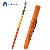 Zhongbao Electrician High pressure gram rod insulation rod operating rod retractable pull rod insulation rod ground rod