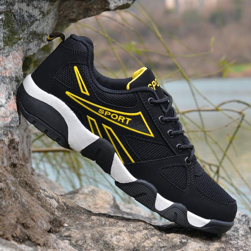 运动跑步鞋情侣鞋网面超轻透气鞋