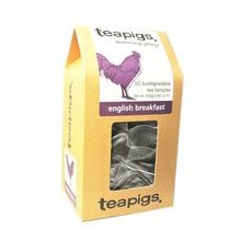 英国原装现货teapigs茶猪猪英式早餐红茶立体茶包50茶包一盒