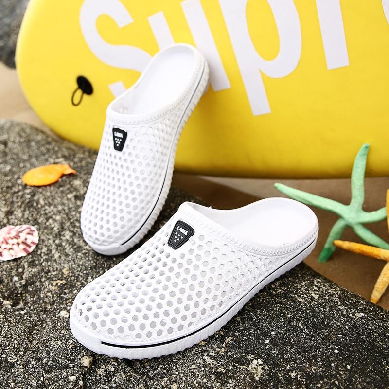 韩版塑料包头鞋