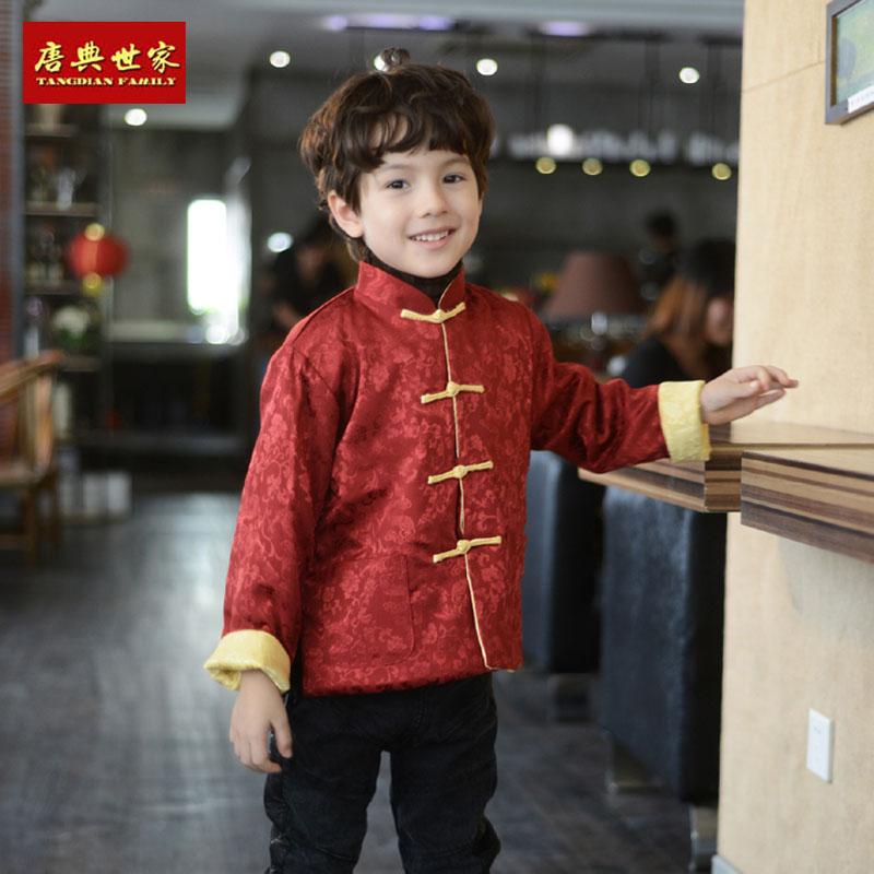 宝宝棉衣中国红