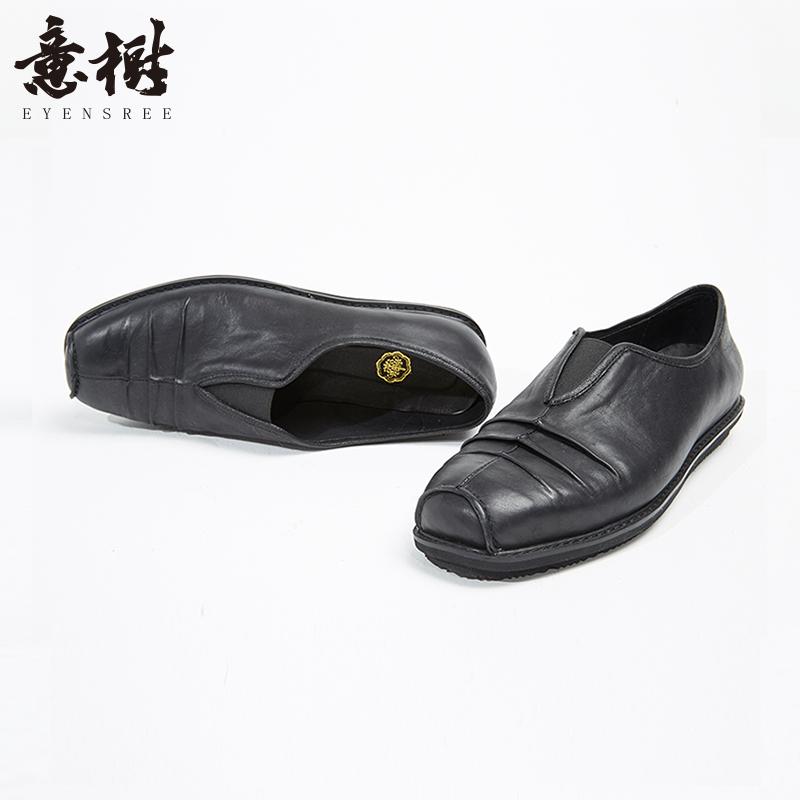 扁头休闲皮鞋