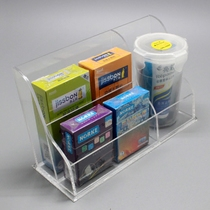 Hotel Hotel paid supplies storage box Acrylic room Supplies family planning rack display rack bedside remote control