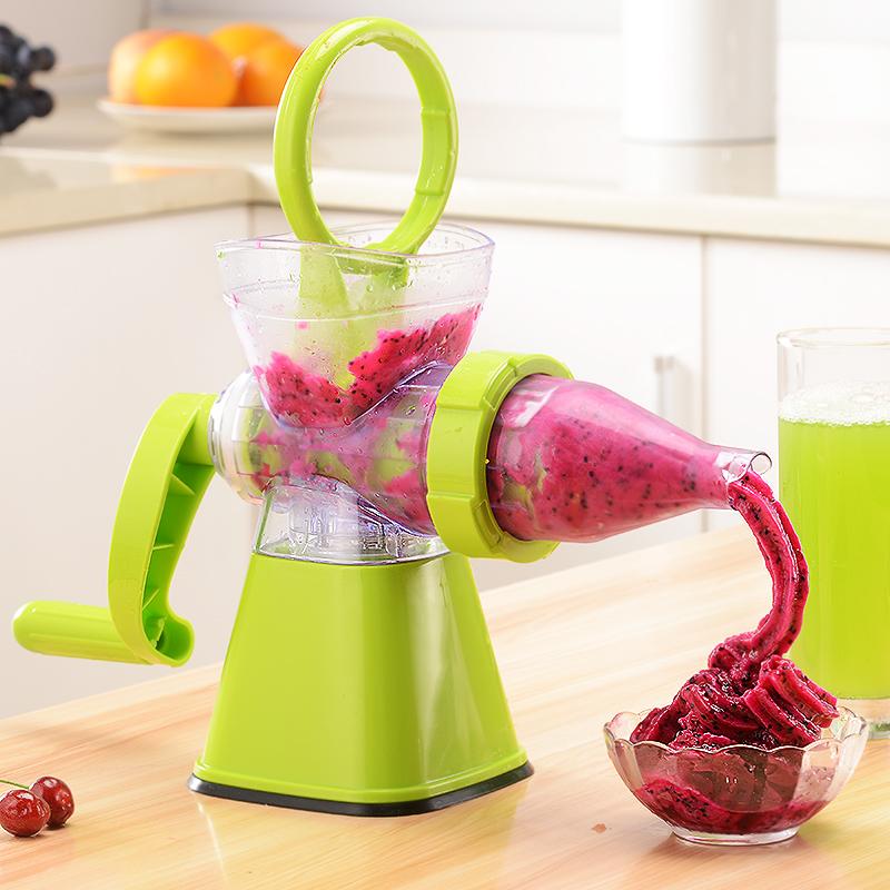 手动榨汁机柠檬榨汁器家用迷你儿童小麦草简易压汁手摇原汁水果机1元优惠券
