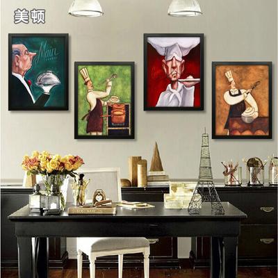 装饰挂画抽象美式在哪买