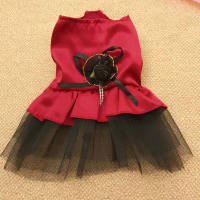 Super small pet skirt Full moon small milk dog clothes Chihuahua deer dog cat rabbit skirt