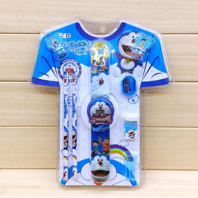 幼儿园儿童文具印章拍拍表套装 衣服造型文具套装学生礼物奖品