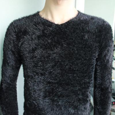 衣服男冬季毛衣针织衫男装t恤男士毛绒打底衫秋天上衣男保暖衣T恤