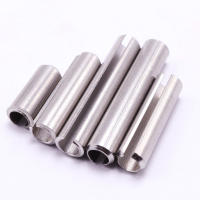 304 stainless steel elastic cylindrical pin positioning pin open pin spring pin M1.5M2M2.5M3M4M5mm
