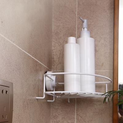 容心强力无痕吸盘浴室厨房玻璃壁挂式置物架创意粘钩/挂钩角架