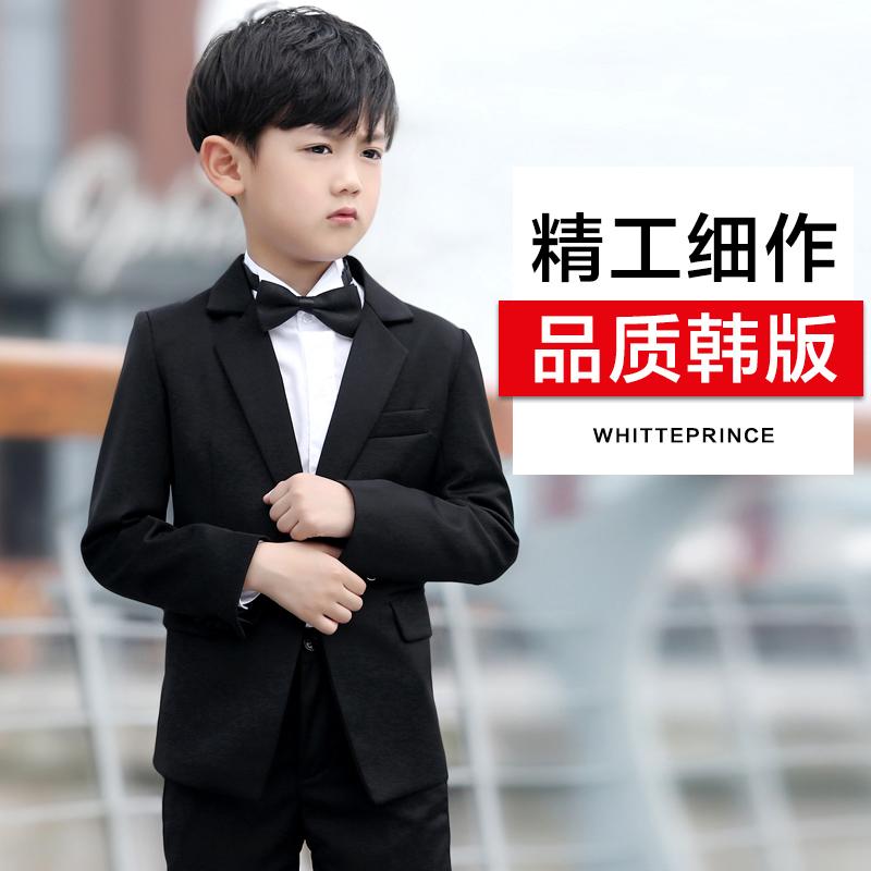 儿童西装套装男宝宝小西服外套男童礼服套装童装西装花童礼服男