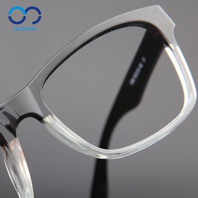 近视眼镜男款大脸TR90超轻镜框架男士潮流大框同款超轻半框透明