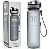 American embrava sports cup running riding hiking fitness bottle with tea compartment