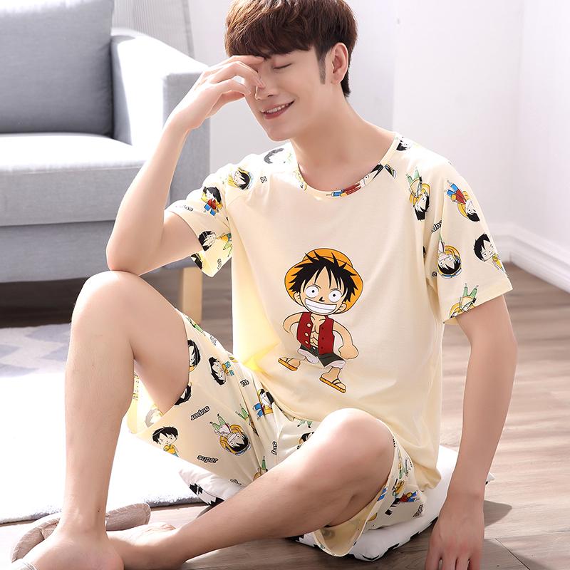 男式韩版睡衣