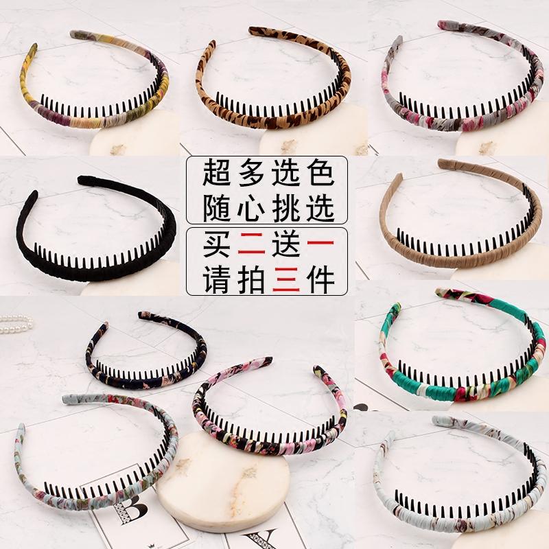 发箍韩国简约头饰时尚带齿发卡.