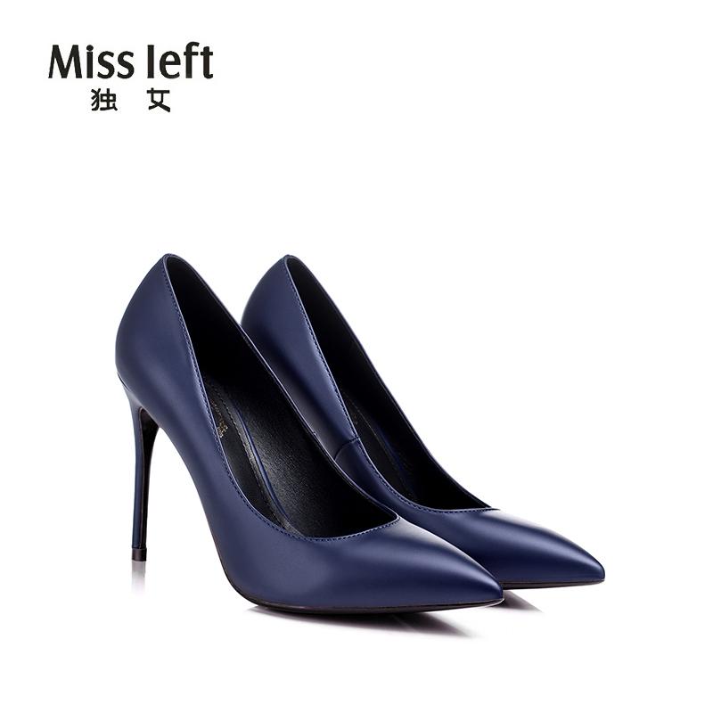 宝蓝色女鞋
