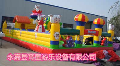 包邮定做儿童户外大型气模游乐微信显示刷红包怎么办60平儿童充气小滑梯蹦跳床城堡