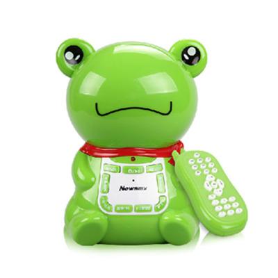 纽曼音乐早教机智慧蛙故事机宝宝婴幼儿童音乐可充电下载X68