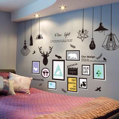 床头墙贴贴纸卧室装饰