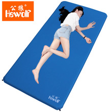 Public wolf outdoor automatic inflatable pad widened single damp proof mat thickened with tent mat about 1 meters wide portable