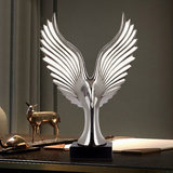 Eagle eagle wings Creative light luxury home decoration ornaments ceramic crafts Wine cabinet TV cabinet office furnishings