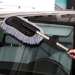汽车用洗车刷子长柄伸缩蜡拖除尘扫灰车掸子长杆擦车拖把清洁工具