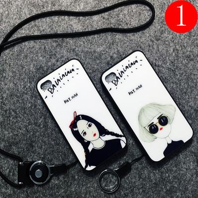 苹果4s手机壳 硅胶iphone4s可爱卡通全包边女款日韩国个性创意4套