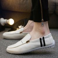 男款皮鞋英伦白色