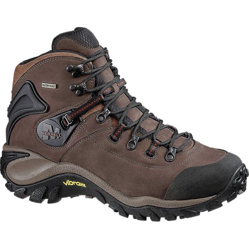 美国直邮Merrell B3777T防水磨砂皮户外徒步鞋登山鞋男靴短靴