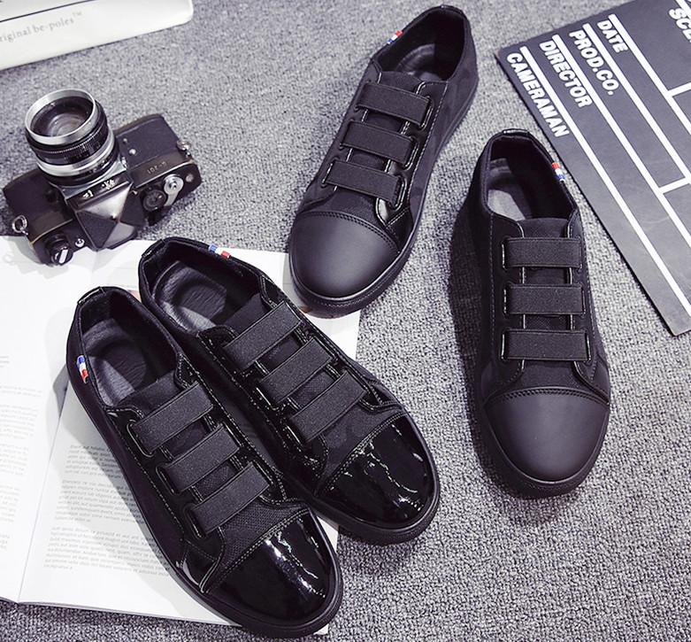 黑色夏季布鞋