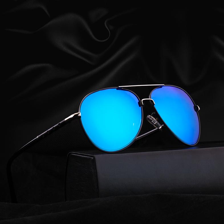 偏光太阳镜墨镜男士个性潮人2017开车司机驾驶眼镜蛤蟆镜圆脸眼睛5元优惠券