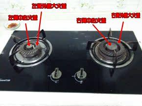 万和天然气液化气配件燃气灶C1-L02X/C1-L04X火盖分火器燃烧器
