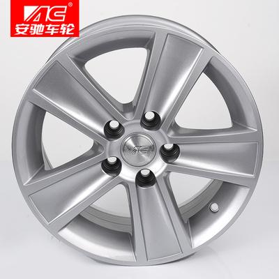 适用于大众轮毂POLO14寸汽车铝合金轮毂安驰轮毂15寸 正品桑塔