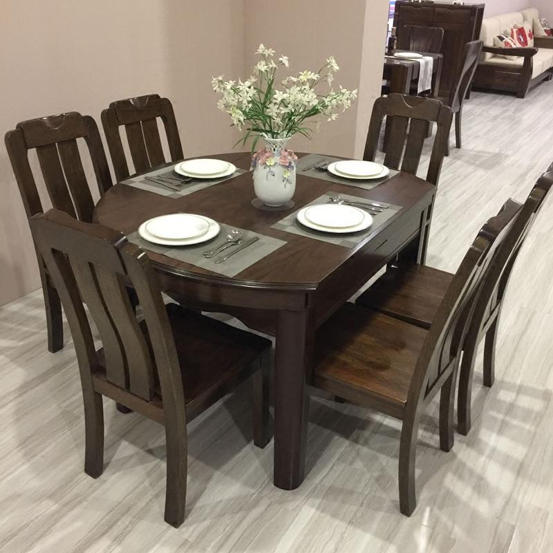 黑胡桃圆桌