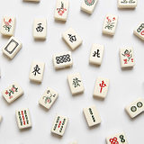 Exclusive creative Mahjong refrigerator stickers Powerful magnet magnet magnet stickers Message stickers magnetic stickers home decorations
