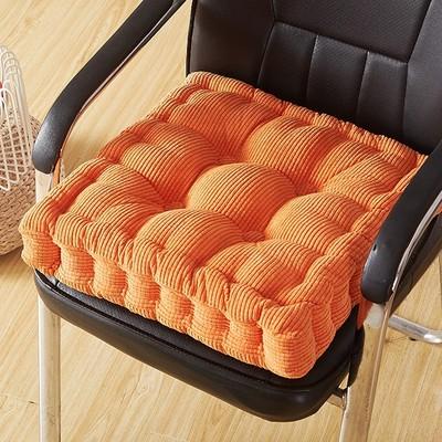 加厚餐椅垫毛绒学生坐垫哪里购买