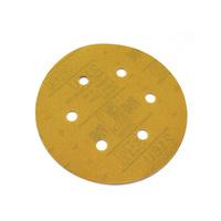 3M 圆盘吸灰干磨砂纸 打磨抛光砂纸236U 5寸圆盘6孔砂纸
