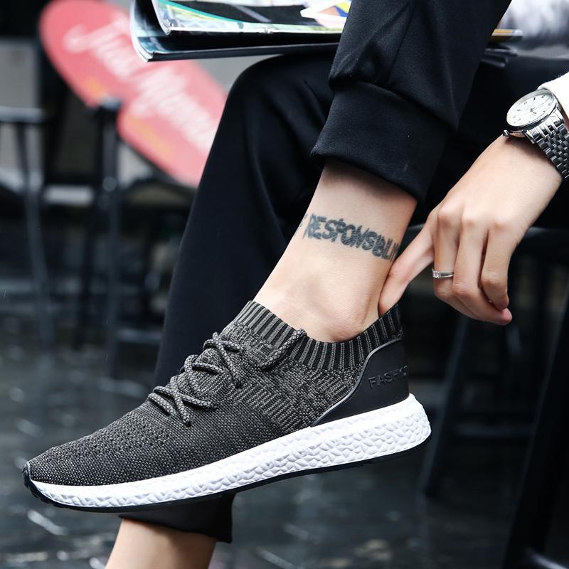 男鞋夏季透气网鞋新款男士运动休闲鞋韩版潮流板鞋男百搭跑步潮鞋