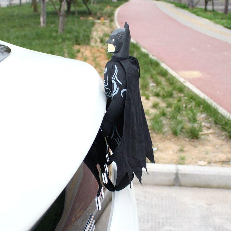 汽车外饰品车顶玩偶装饰蜘蛛侠车上饰品车载公仔汽车尾部外观装饰