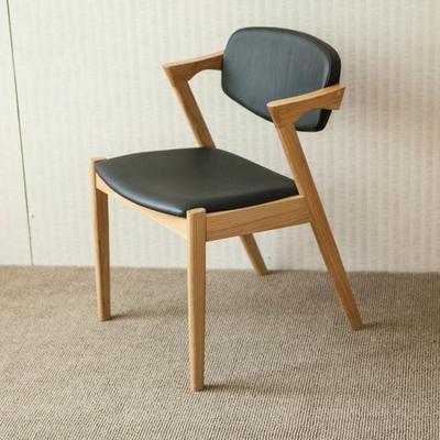 宜家橡木餐椅