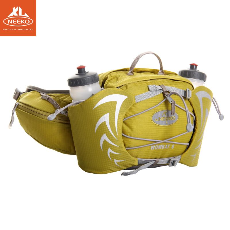 喜力高户外跑步登山徒步腰包男女水壶包运动多功能防水贴身便携包