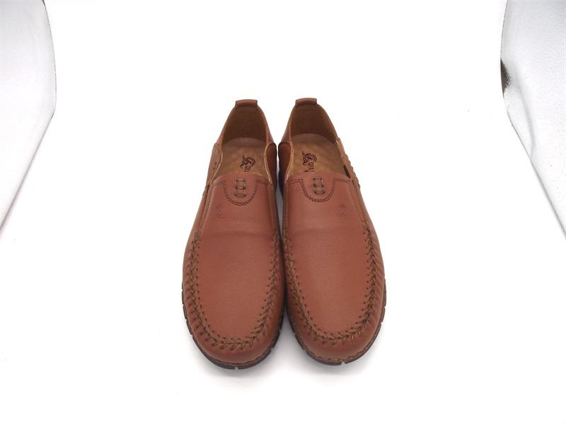 3515强人软底软面男时尚休闲单鞋真皮透气简单男鞋包邮6X-629015