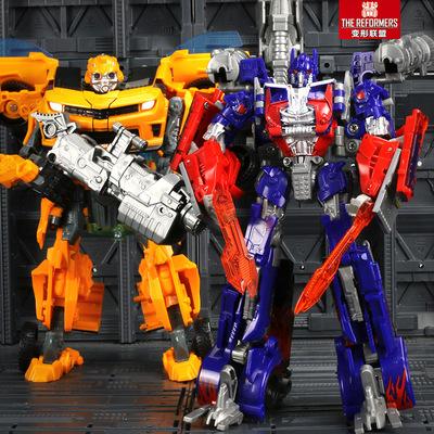 变形玩具金刚汽车变形机器人3一4岁擎天柱超人玩具奥特曼男孩正版