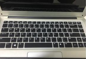 海尔(Haier)S410键盘膜14寸垫薄笔记本电脑贴膜 凹凸防尘保护膜